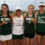 Girls' Tennis Starts The Season With Medals