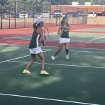 Varsity and JV Tennis Dominate Quads
