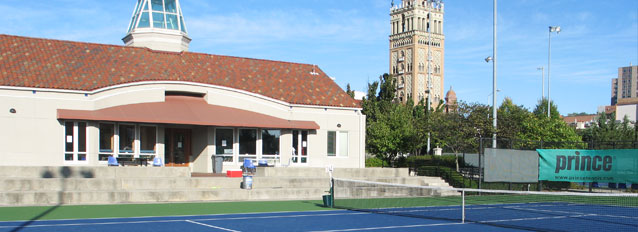 Varsity Tennis Competes at Plaza Tournament
