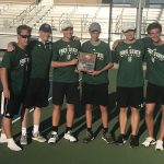 Varsity Tennis Finishes 2nd at Regionals
