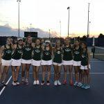 Varsity Tennis Victorious at Olathe East