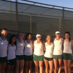 Varsity Tennis Ties for 1st at Emporia
