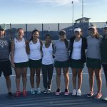 Varsity Tennis Take 2nd at League