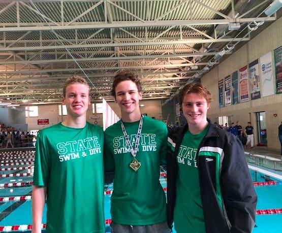 CONGRATULATIONS to the Firebirds Boys Swim & Dive Team!