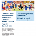 $25 Sports Physicals for the 2019-20 School Year!