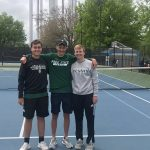 Varsity Tennis Qualifies Three