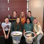 S.A.L.T. of the Firebirds Assemble Thanksgiving Baskets