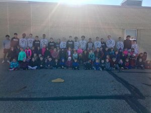 Firebirds Basketball Team Visits Woodrow Wilson Elementary School