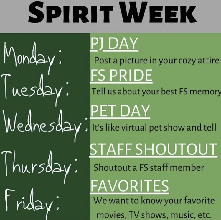 """Free State StuCo Announces """"Back to School Spirit Week!"""""""