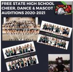 2020-2021 Free State Cheer, Dance & Mascot Tryout Information