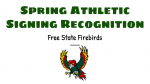 Spring Athletic Signing Recognition