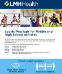 LMH Offers $25 Physicals! REMINDER