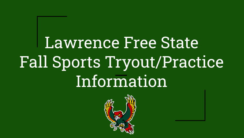 Important Information for the Start of Fall Sports