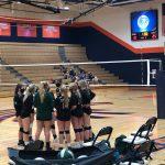 Girls Junior Varsity Volleyball beats Olathe East High School (Olathe, KS) 2 – 0