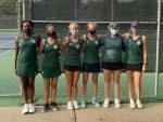 Girls Varsity Tennis Finish 3-9 at SMS Quad