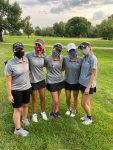 Girls Varsity Golf finishes 6th place at the 1st Leg of Sunflower League