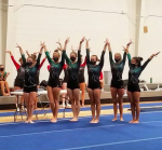 Girls Varsity Gymnastics finishes 1st place at Meet @ Mill Creek Campus