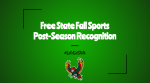 Free State Firebirds Earn Post-Season Honors!