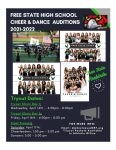 2021-2022 Spirit Squad Tryouts