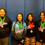 Lady Saints Wrestling finishes 10th and sends 4 qualifiers to CIF Championships