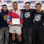 Santa Ana boys wrestlers compete at Nationals