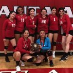 Girls volleyball takes 2nd place at tournament