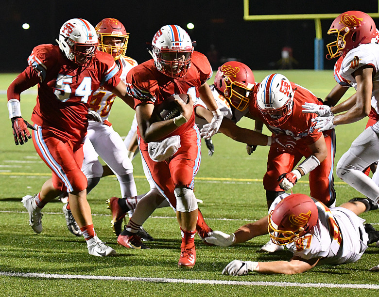 Santa Ana Saints Football Team Victorious Over Division 8 Opponent Woodbridge