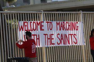 SAHS Marching with the Saints (vs Orange HS) Fan Gallery