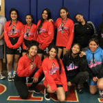 JV Female Wrestlers Place 5th at The Valley Girl Rumble