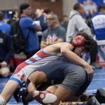 SAHS Wrestlers at 5 Counties 1-11-19