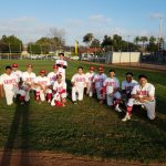 Saints Baseball Team Beats Estancia in Extra Innings
