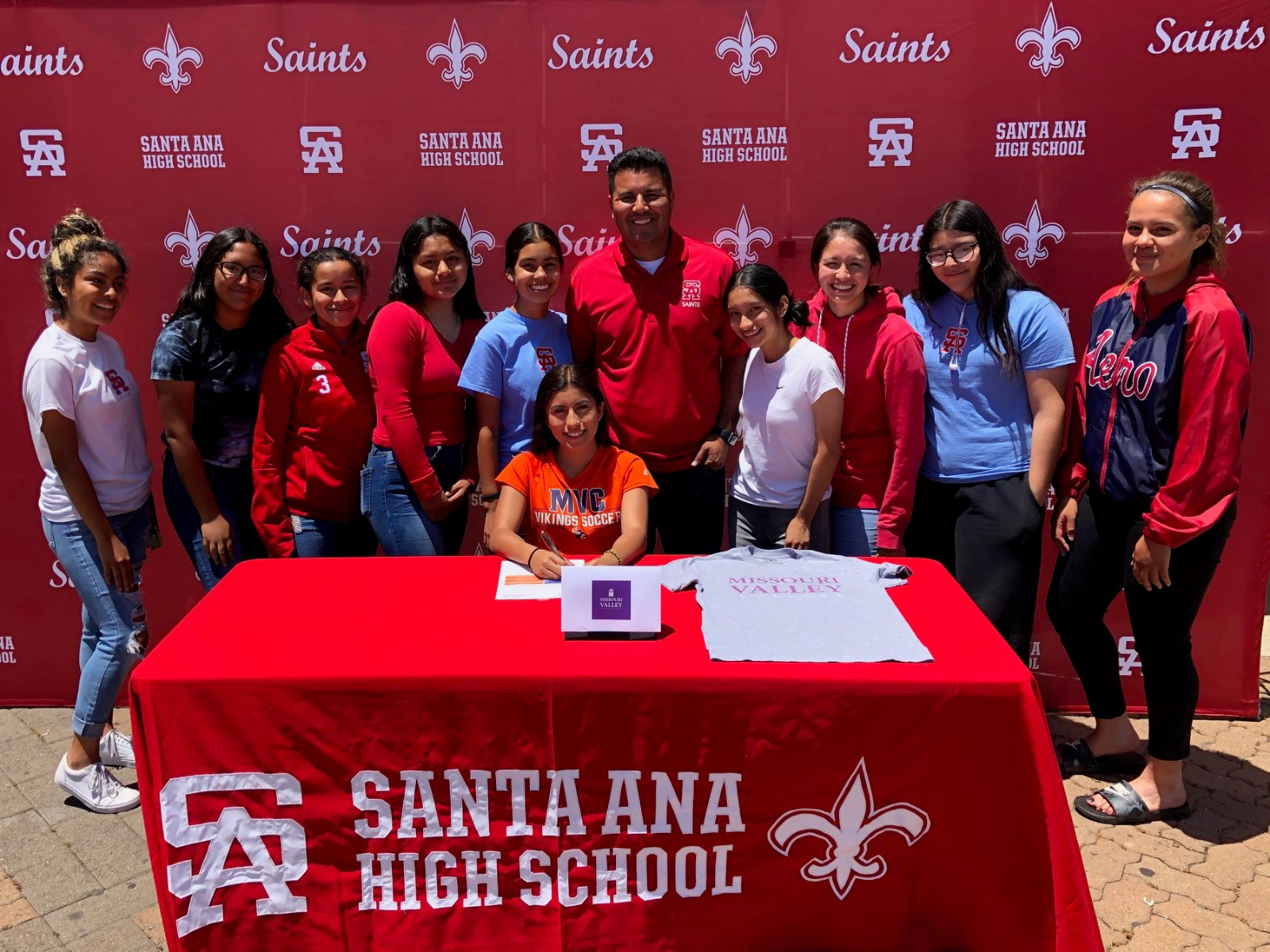 Mayra Zarate Accepts Soccer Scholarship to Missouri Valley College