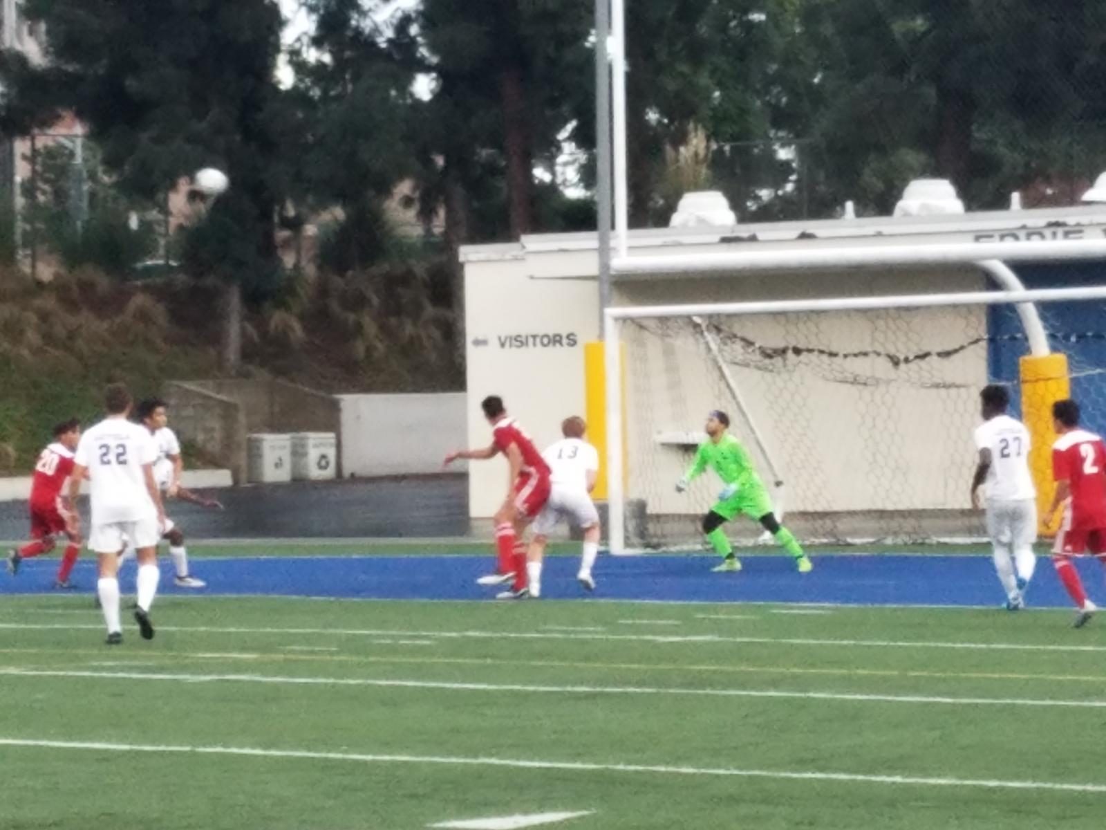 Santa Ana Boys Soccer Defeats Loyola