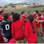 Girls Varsity Soccer beats Estancia 2 – 0