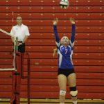 West Holmes High School Girls Varsity Volleyball falls to Orrville High School 1-3