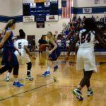 West Holmes High School Girls Varsity Basketball falls to Eastmoor Academy High School 43-44