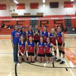 8th Grade Volleyball Wins OCC Championship