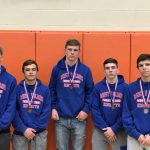 Boys Varsity Wrestling finishes 7th place at Wrestling Districts