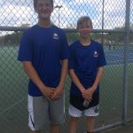 Gallion and Wagner Advance to District Tennis Tournament