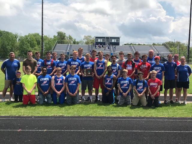 Boys Track Wins District Championship, Girls Track Finishes 5th at Districts