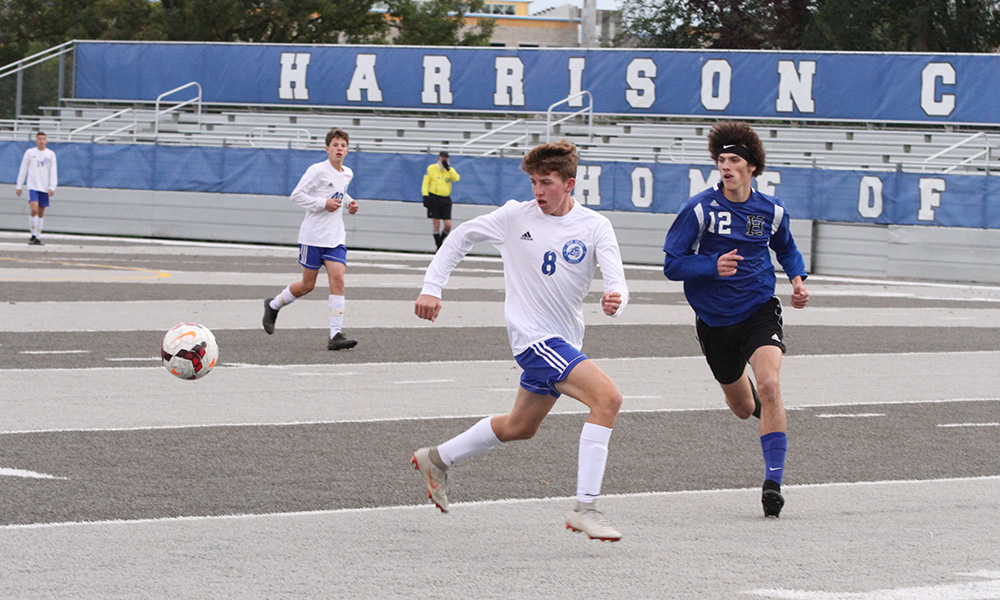 Boys Soccer Wins Tournament Opener, Defeats Harrison Central 1-0