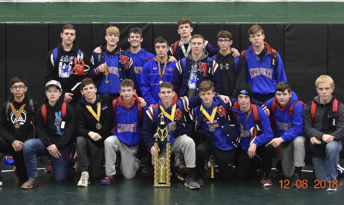 Wrestling takes the team title at the 2018 WIT