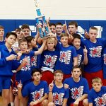 Boys Middle School Wrestling 7th/8th Grade finishes 1st place at Tuslaw Invite