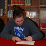 Charolette Brown Signs Letter of Intent to Muskingum University
