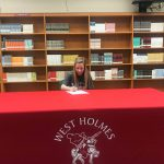 Dani Roll Signs Letter of Intent to Heidelberg University