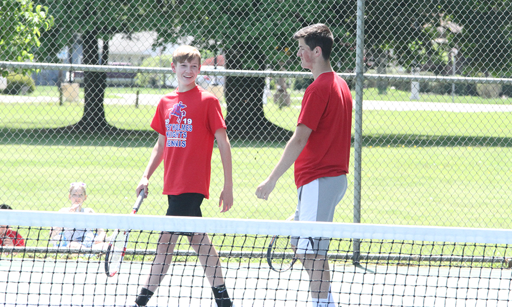 Wagner, Gallion Advance to State Tennis Meet