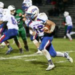 Boys Varsity Football beats West Branch 56 – 34