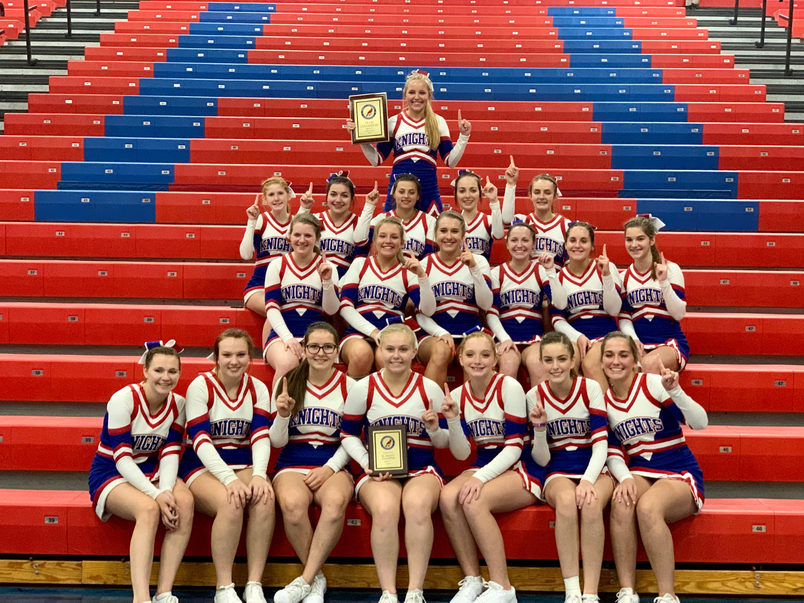 West Holmes Wins OCC Cheer Competition