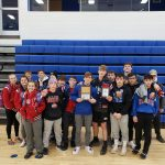 Varsity Wrestling Team Finishes 2nd at Cambridge