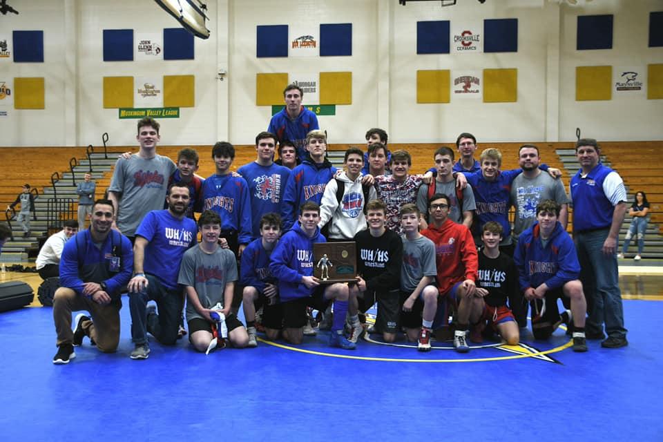 Knights Wrestling Wins Regional Dual Tournament